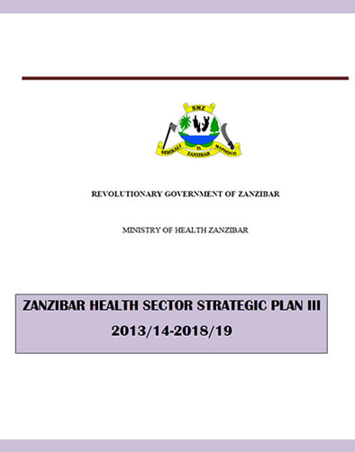 Zanzibar Health Sector Strategic Plan III 2014-18